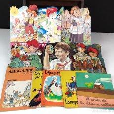 Libros de segunda mano: LOTE DE 11 CUENTOS EN CATALÁN.(VER DESCRIPCIÓN). VV. AA. VARIAS EDITORIALES. 1962/1976.. Lote 83933260