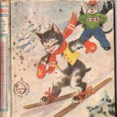 Libros de segunda mano: GOSTA KNUTSSONN : LO QUE LE PASÓ A PELE RABÓN (HYMSA CASCABEL, 1947). Lote 84119572