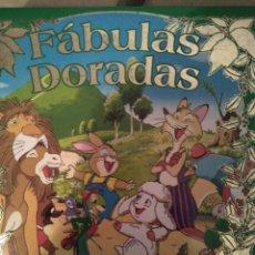 Livres d'occasion: FABULAS DORADAS. Lote 84119851