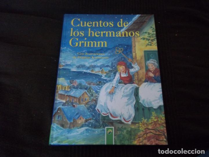 PRECIOSO TOMO CUENTOS DE LOS HERMANOS GRIMM CON ILUSTRACIONES DE DAGMAR KAMMERER (Libros de Segunda Mano - Literatura Infantil y Juvenil - Cuentos)