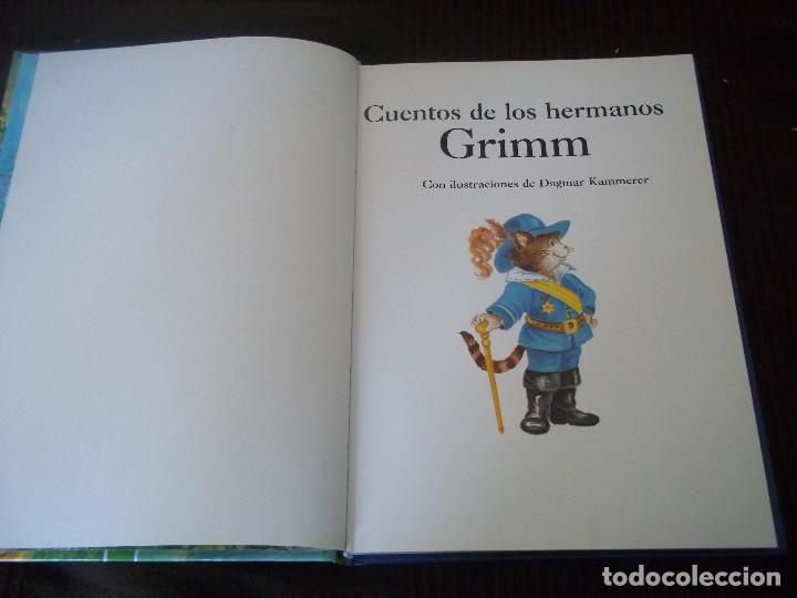 Libros de segunda mano: PRECIOSO TOMO CUENTOS DE LOS HERMANOS GRIMM CON ILUSTRACIONES DE DAGMAR KAMMERER - Foto 3 - 84535532