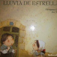 Libros de segunda mano: LLUVIA DE ESTRELLAS HERMANOS GRIMM EVE THARLET EVEREST 1 EDICION 1992. Lote 84653732