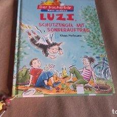 Libros de segunda mano: LUZI , SCHUTZENGEL MIT SONDERAUFTRAG . KLAUS HEILMAN EN ALEMAN ILUSTRADO CON ORIGINAL MARCAPAGINAS. Lote 84700548