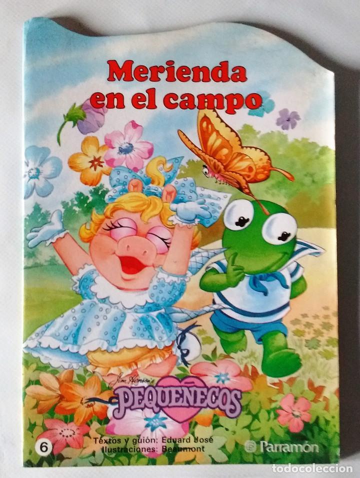 PEQUEÑECOS DIBUJOS BEAUMONT TROQUELADOS PARRAMÓN Nº 6 EXTRA 1986 NUEVO (Libros de Segunda Mano - Literatura Infantil y Juvenil - Cuentos)