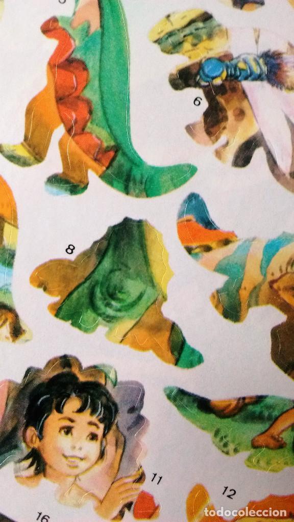 Libros de segunda mano: Dinosaurios libro de pegatinas adhesivos Saldaña 1993 nuevo - Foto 3 - 84952196