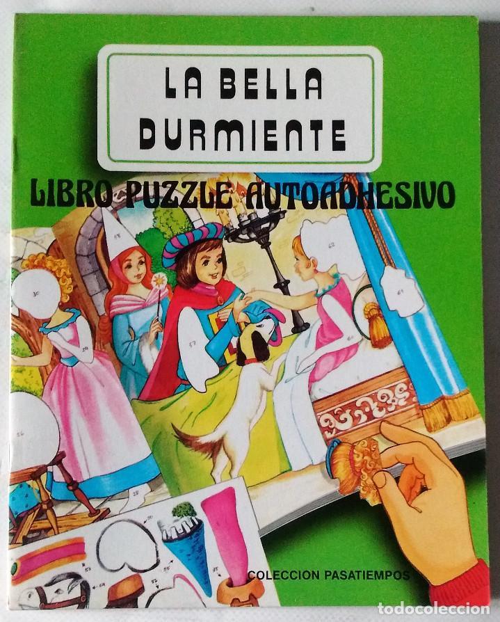 LA BELLA DURMIENTE LIBRO PUZZLE AUTOADHESIVO SALDAÑA 1988 PRECIOSOS DIBUJOS NUEVO (Libros de Segunda Mano - Literatura Infantil y Juvenil - Cuentos)