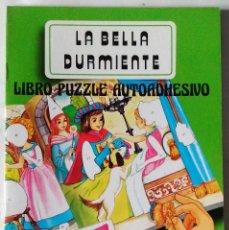 Libros de segunda mano: LA BELLA DURMIENTE LIBRO PUZZLE AUTOADHESIVO SALDAÑA 1988 PRECIOSOS DIBUJOS NUEVO. Lote 85023528