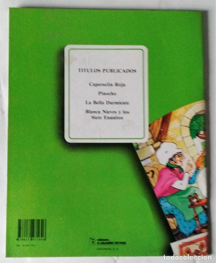 Libros de segunda mano: La bella durmiente libro puzzle autoadhesivo Saldaña 1988 preciosos dibujos nuevo - Foto 3 - 85023528