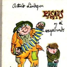 Libros de segunda mano: ASTRID LINDGREN : PASMUS Y EL VAGABUNDO (DONCEL, 1961). Lote 85053752