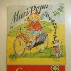 Libros de segunda mano: MARIPEPA DEPORTISTA CON SUPLEMENTO RECORTABLE.. Lote 85270052
