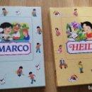 Libros de segunda mano: LIBRO CUENTO HEIDI LIBRO CUENTO MARCO CON MUCHAS IMÁGENES,CLUB INTERNACIONAL DEL LIBRO,EDILIBRO 1995. Lote 85447168