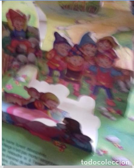 Libros de segunda mano: BLANCANIEVES Y LOS 5 GIGANTES. 1945. Blanca Nieves + 1 regalo - Foto 5 - 27385455