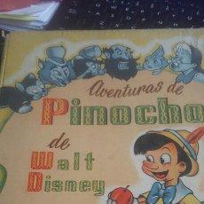 Libros de segunda mano: AVENTURAS DE PINOCHO DE WALT DISNEY CONSTA DE 48 PÁGINAS ILUSTRADAS CON EXCELENTES DIBUJOS EN NEGRO . Lote 86741587