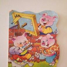 Libros de segunda mano: LOS 3 CERDITOS, EDITORIAL BRUGUERA, 1979. Lote 87059804