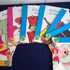 Libros de segunda mano - LOTE 9 LIBROS INFANTILES, COLECCIÓN CUENTO AVENTURA – EVEREST EDITORIAL - 110544568