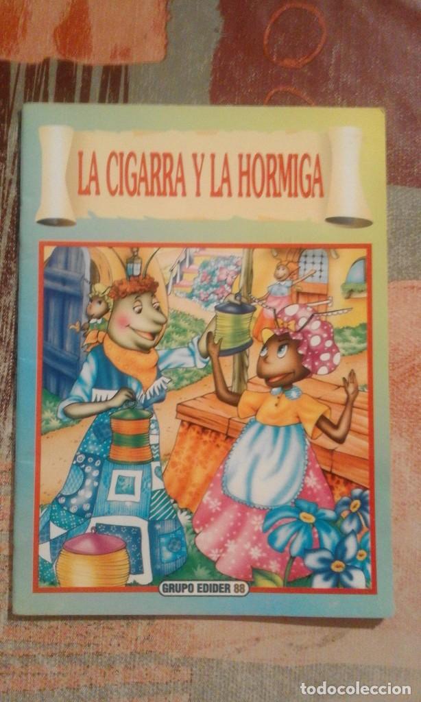 LA CIGARRA Y LA HORMIGA (Libros de Segunda Mano - Literatura Infantil y Juvenil - Cuentos)