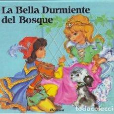 Libros de segunda mano: LA BELLA DURMIENTE DEL BOSQUE. POP-UP ( CUENTO MOVIL. ILUSTRACIONES LUCE ANDREE LAGARDE. ED. HEMMA).. Lote 88180240