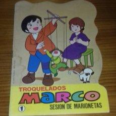 Libros de segunda mano: CUENTO TROQUELADO MARCO- SESIÓN DE MARIONETAS N°1 (BRUGUERA). Lote 88206316