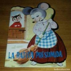 Libros de segunda mano: CUENTO TROQUELADO LA RATITA PRESUMIDA PRODUCCIONES EDITORIALES 1981. Lote 88872048