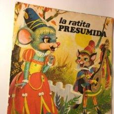 Libros de segunda mano: CUENTO LA RATITA PRESUMIDA. Lote 89092532