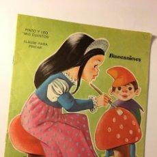 Libros de segunda mano: CUENTO Y PINTO BLANCANIEVES. Lote 89092628