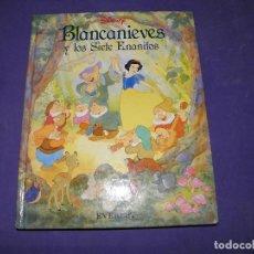 Libros de segunda mano: CUENTO BLANCANIEVES Y LOS SIETE ENANITOS - EDITORIAL EVEREST. Lote 89340992