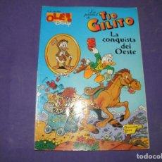 Livres d'occasion: TIO GILITO LA CONQUISTA DEL OESTE - OLE Nº 24. Lote 106003951