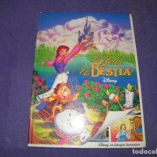 Libros de segunda mano: LA BELLA Y LA BESTIA - DISNEY. Lote 89347952