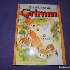 Libros de segunda mano: GRAN LIBRO DE LOS GRIMM. Lote 89348344