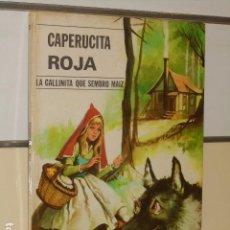 Libros de segunda mano: CAPERUCITA ROJA Y LA GALLINITA QUE SEMBRO MAIZ - EDITORIAL VASCO AMERICANA -. Lote 89444528