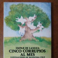 Libros de segunda mano: CINCO CORRUPIOS AL MES (EMPAR DE LANUZA) - AUSTRAL JUVENIL. Lote 114138272