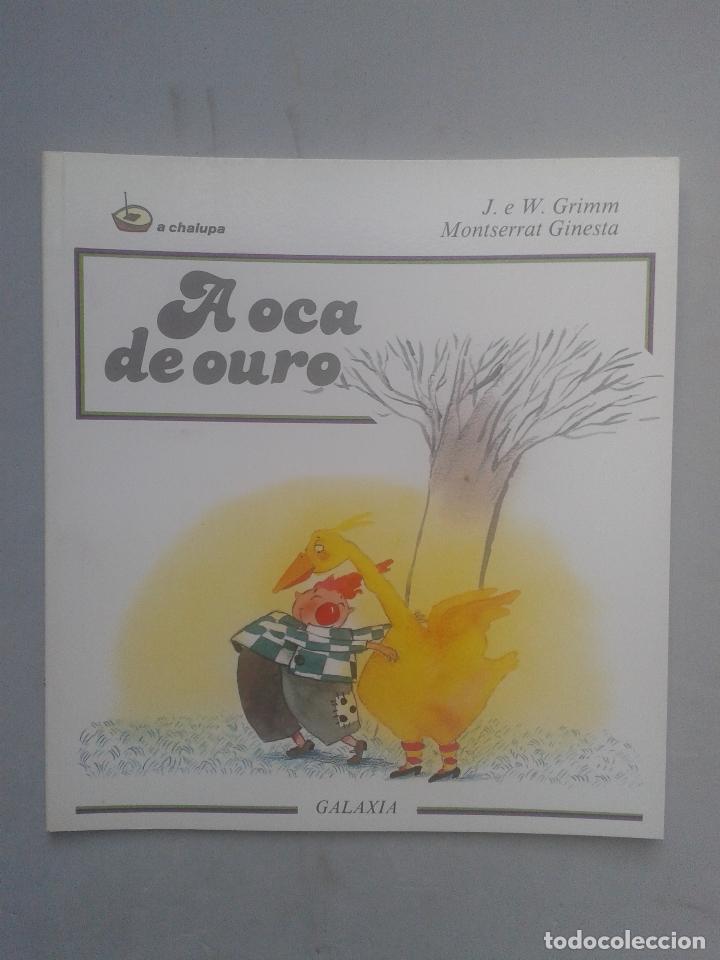 A OCA DE OURO. J. E W. GRIMM. (Libros de Segunda Mano - Literatura Infantil y Juvenil - Cuentos)