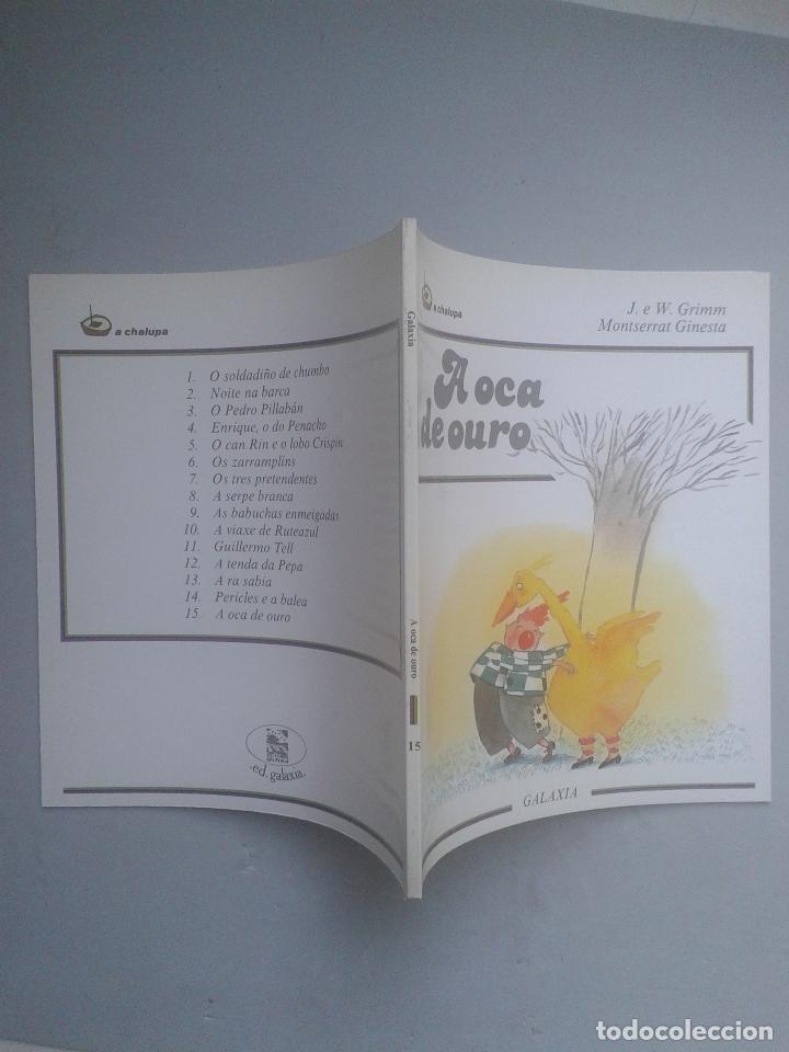 Libros de segunda mano: A Oca de Ouro. J. e W. Grimm. - Foto 6 - 89725420