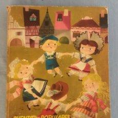 Libros de segunda mano: ANTIGUO LIBRO ILUSTRADO CUENTOS POPULARES SUIZOS EDITORIAL MOLINO ORIGINAL AÑO 1959. Lote 89856392