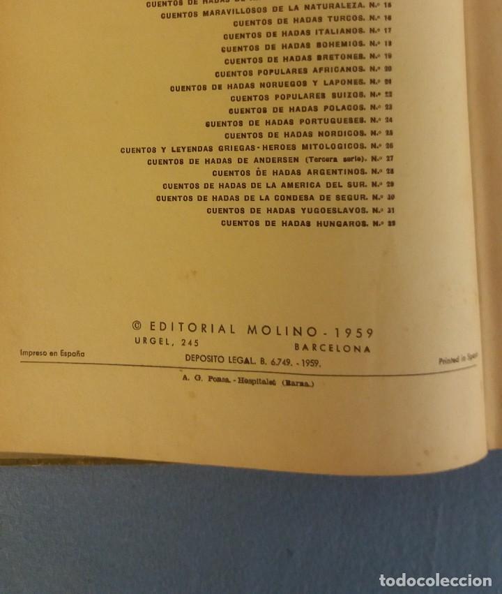 Libros de segunda mano: ANTIGUO LIBRO ILUSTRADO CUENTOS POPULARES SUIZOS EDITORIAL MOLINO ORIGINAL AÑO 1959 - Foto 3 - 89856392