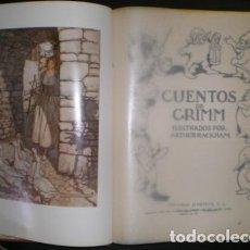 Libros de segunda mano: CUENTOS DE GRIMM. ILUSTRADOS POR ARTHUR RACKHAM. Lote 89859240