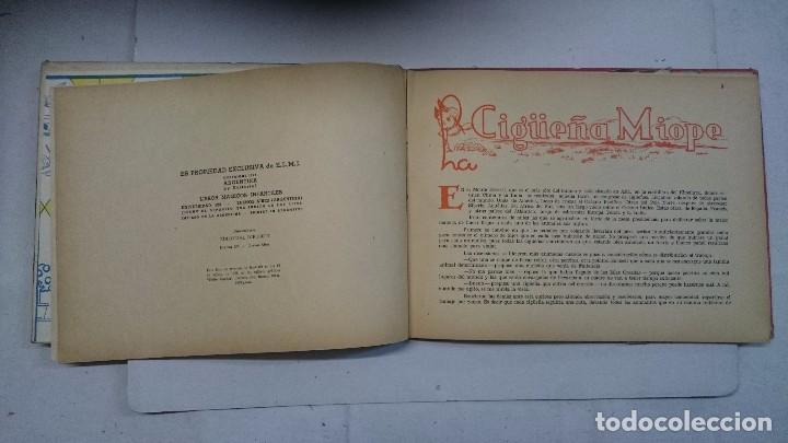 Libros de segunda mano: Lote de cuentos troquelados: El enanito pilongo (1948) - La cigüeña miope (1952) - Foto 4 - 90533150
