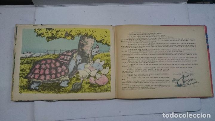 Libros de segunda mano: Lote de cuentos troquelados: El enanito pilongo (1948) - La cigüeña miope (1952) - Foto 6 - 90533150