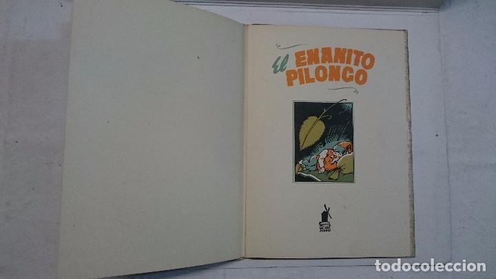 Libros de segunda mano: Lote de cuentos troquelados: El enanito pilongo (1948) - La cigüeña miope (1952) - Foto 7 - 90533150