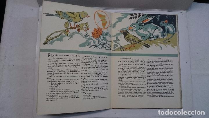 Libros de segunda mano: Lote de cuentos troquelados: El enanito pilongo (1948) - La cigüeña miope (1952) - Foto 8 - 90533150