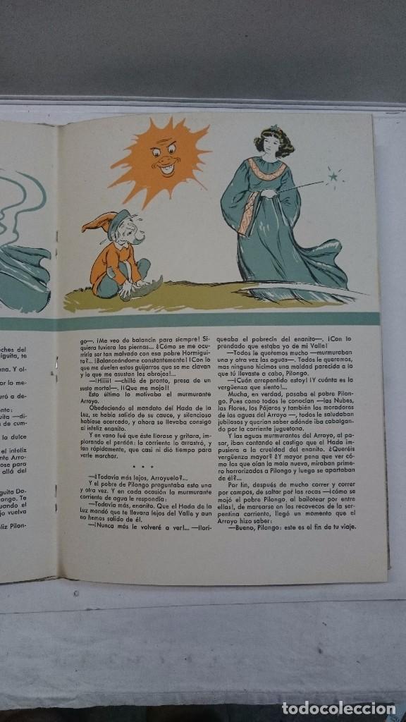 Libros de segunda mano: Lote de cuentos troquelados: El enanito pilongo (1948) - La cigüeña miope (1952) - Foto 9 - 90533150