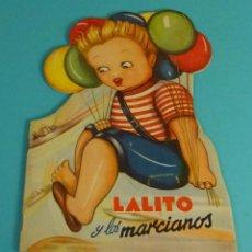 Libros de segunda mano: CUENTO TROQUELADO. LALITO Y LOS MARCIANOS. DIBUJOS M.M. ARRANDO. TEXTO N.B. FLORES. GRÁFIC. VALENCIA. Lote 131142067