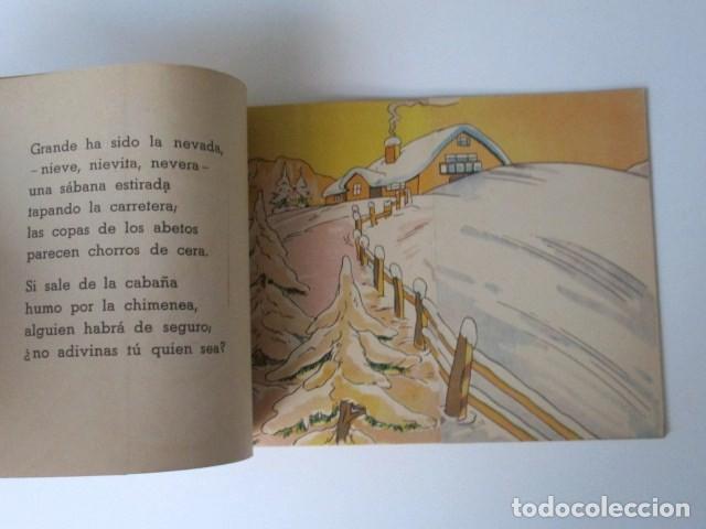 Libros de segunda mano: ANTIGUO CUENTO DESPLEGABLE CON SORPRESA ADIVINA ADIVINANZA, COLECCIÓN QUE SALDRÁ, 1948 - Foto 5 - 90578685