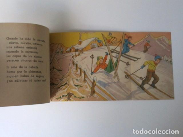 Libros de segunda mano: ANTIGUO CUENTO DESPLEGABLE CON SORPRESA ADIVINA ADIVINANZA, COLECCIÓN QUE SALDRÁ, 1948 - Foto 6 - 90578685