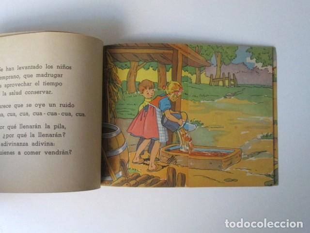 Libros de segunda mano: ANTIGUO CUENTO DESPLEGABLE CON SORPRESA ADIVINA ADIVINANZA, COLECCIÓN QUE SALDRÁ, 1948 - Foto 9 - 90578685