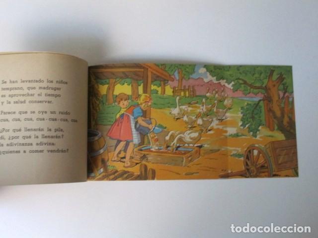 Libros de segunda mano: ANTIGUO CUENTO DESPLEGABLE CON SORPRESA ADIVINA ADIVINANZA, COLECCIÓN QUE SALDRÁ, 1948 - Foto 10 - 90578685