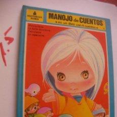 Libros de segunda mano: ANTIGUO LIBRO - MANOJO DE CUENTOS - LIBRO DE CUATRO CUENTOS - EDITORIAL ROMA. Lote 91043605