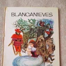 Libros de segunda mano: LIBRO 3 CUENTOS BLANCANIEVES GUISANTE Hª NAVIDAD COLECCION RUBÍ SUSAETA AÑO 1970. Lote 91126900