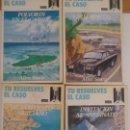Libros de segunda mano: LOTE TU RESUELVES EL CASO Nº 1 A 4 LIBRO JUEGO. Lote 91300190