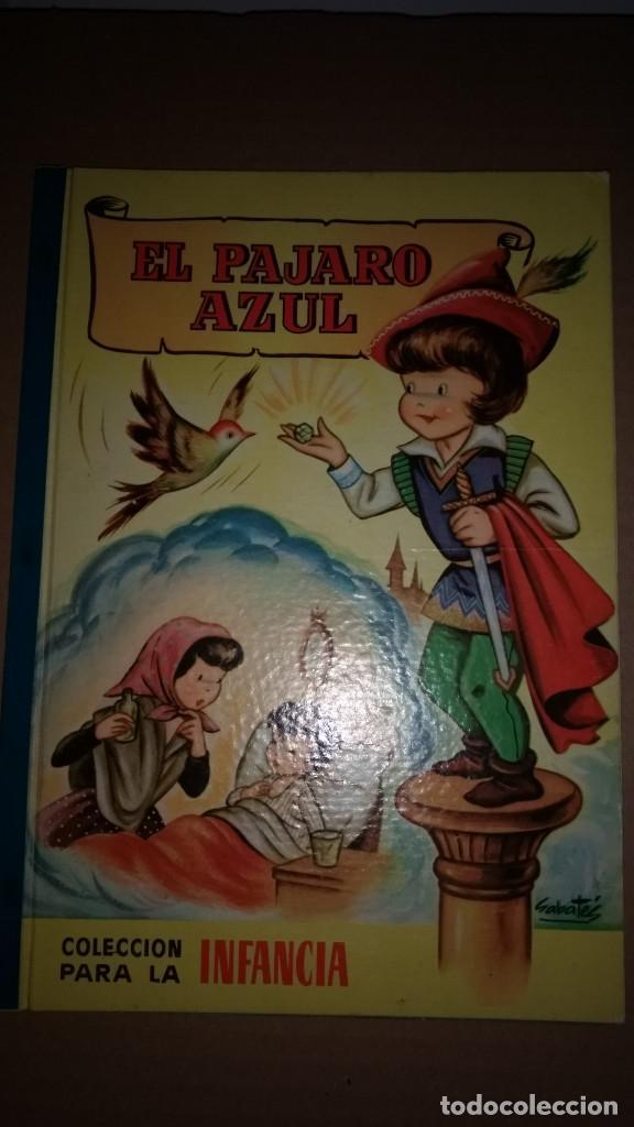 EL PAJARO AZUL COLECCION PARA LA INFANCIA BRUGUERA 1º EDI.1957 (Libros de Segunda Mano - Literatura Infantil y Juvenil - Cuentos)